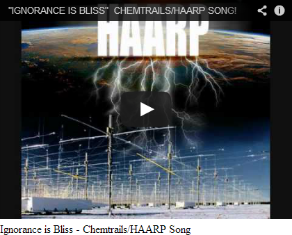 Chemtrails Song