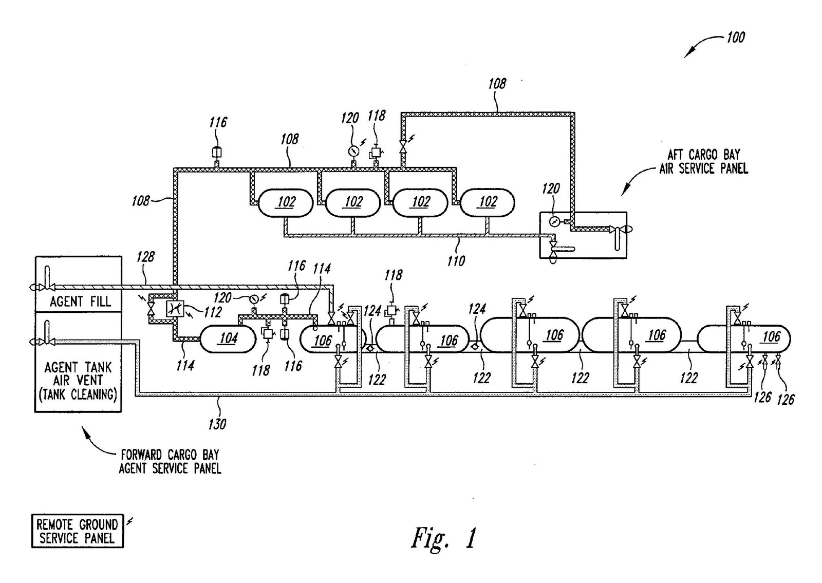 Chemtrail Related Patents Oil Tank Schematic